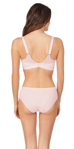 Sheer Illusion Sport Bra - Shell