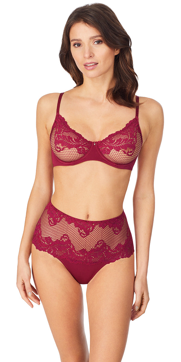 Lace Allure Unlined - Rouge