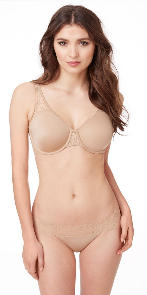 The Essential Smoother Unlined Bra - Natural