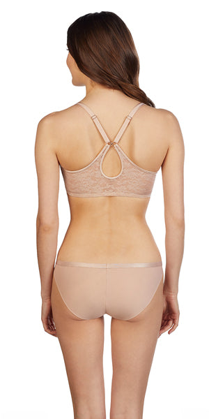 Lace Perfection Convertible Racerback - Natural