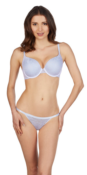 Lace Perfection T-Shirt Bra - Sky
