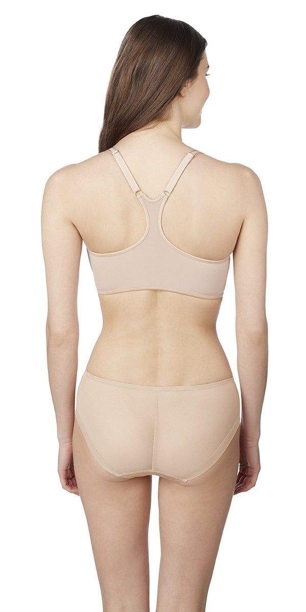 Sheer Illusion Racerback - Natural
