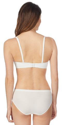 Infinite Possibilities Plunge Bra -  Ivory Geo