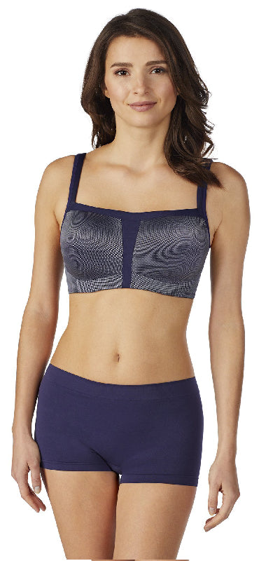 Hi-Impact Sports Bra - Metallic Eclipse