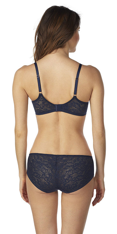 Natural Comfort Unlined Bra - Night Sky