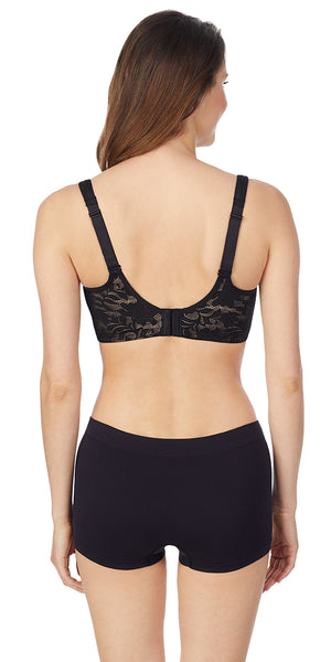Hi-Impact Sports Bra - Black Lace