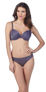 Lace Perfection T-Shirt Bra - Nocturnal Blue