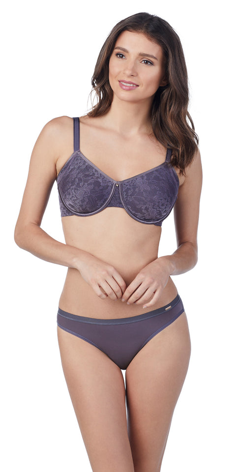 Lace Perfection Smoother Bra - Nocturnal Blue