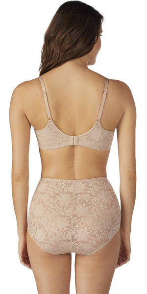 Lace Comfort Unlined Bra - Natural
