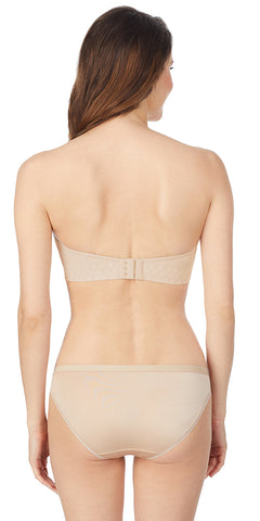 Clean Lines Strapless Bra - Natural