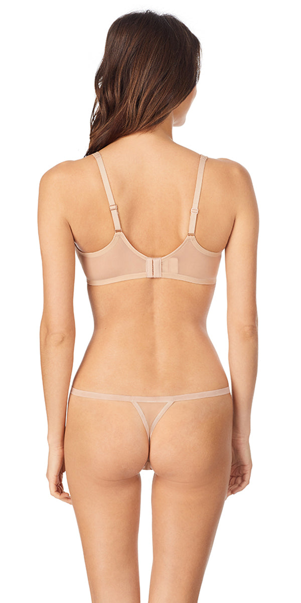 Sheer Seduction Unlined - Natural