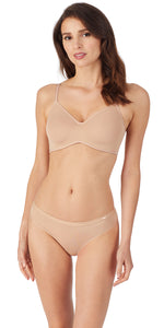 Clean Lines Unlined Bra - Natural