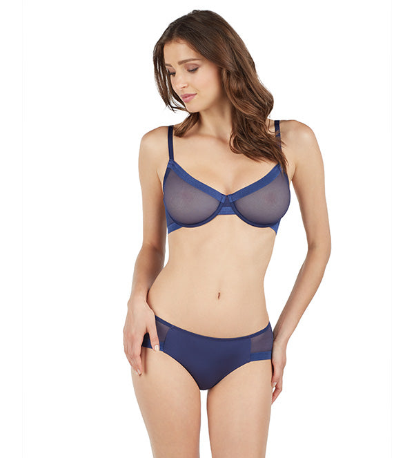 Infinite Sheer Unlined - Deep Navy