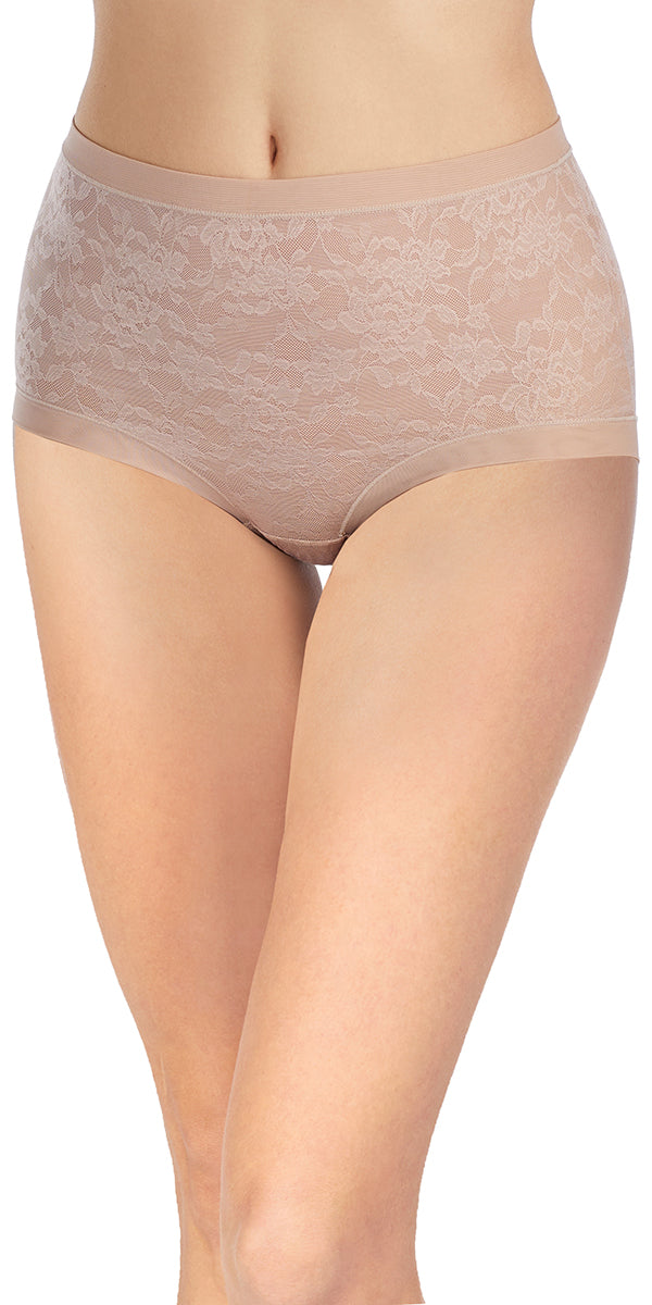 Lace Perfection Brief - Natural