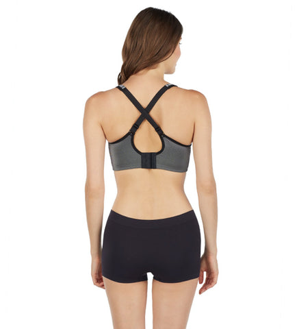 Hi-Impact Sports Bra - Graphite