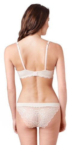 Sophia Lace T-Shirt Bra - Almond