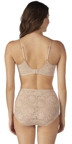 Lace Comfort T-Shirt Bra - Natural
