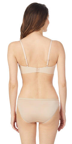 Clean Lines T-Shirt Bra - Natural