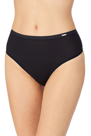 Infinite Comfort High Waist Thong - Black