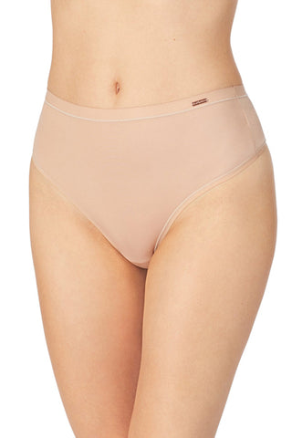 Infinite Comfort High Waist Thong - Natural