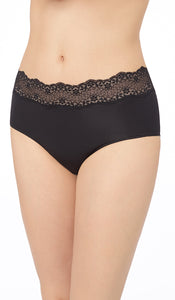 Perfect Pair High-Waist Brief - Black