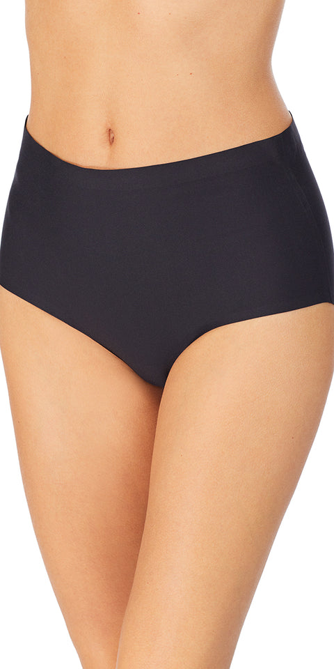 Smooth Shape Modern Brief - Black