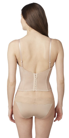 Soiree Longline Bustier - Natural
