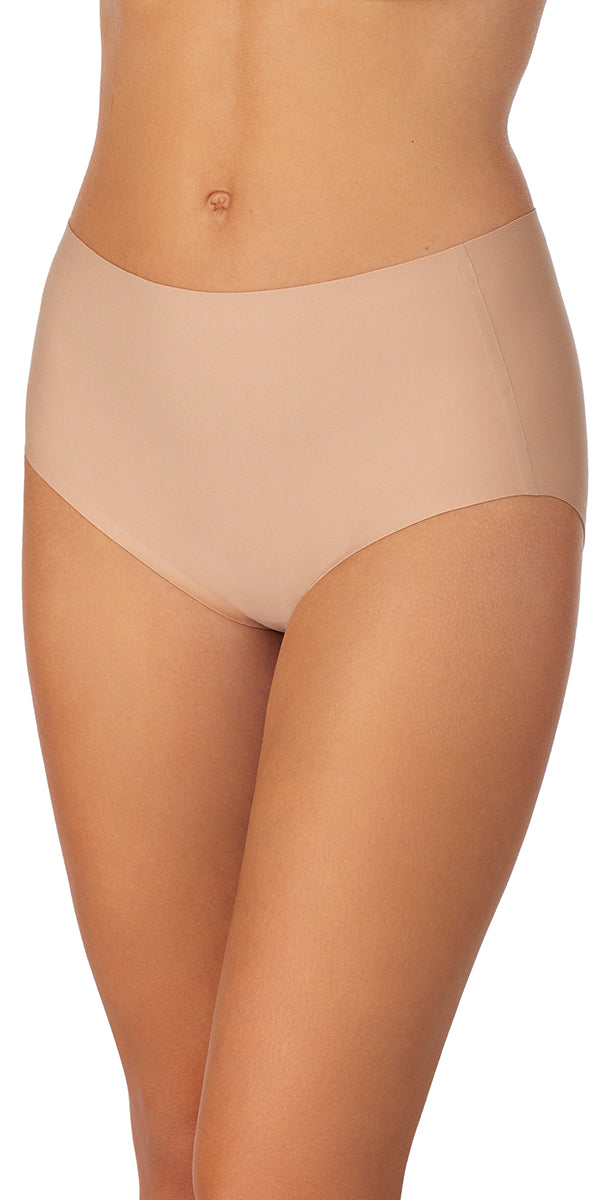 Smooth Shape Modern Brief - Natural