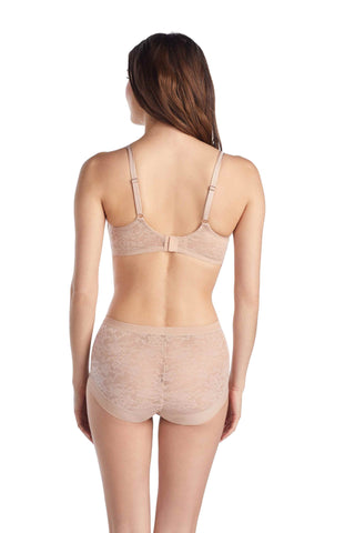 Lace Perfection T-Shirt Bra - Natural