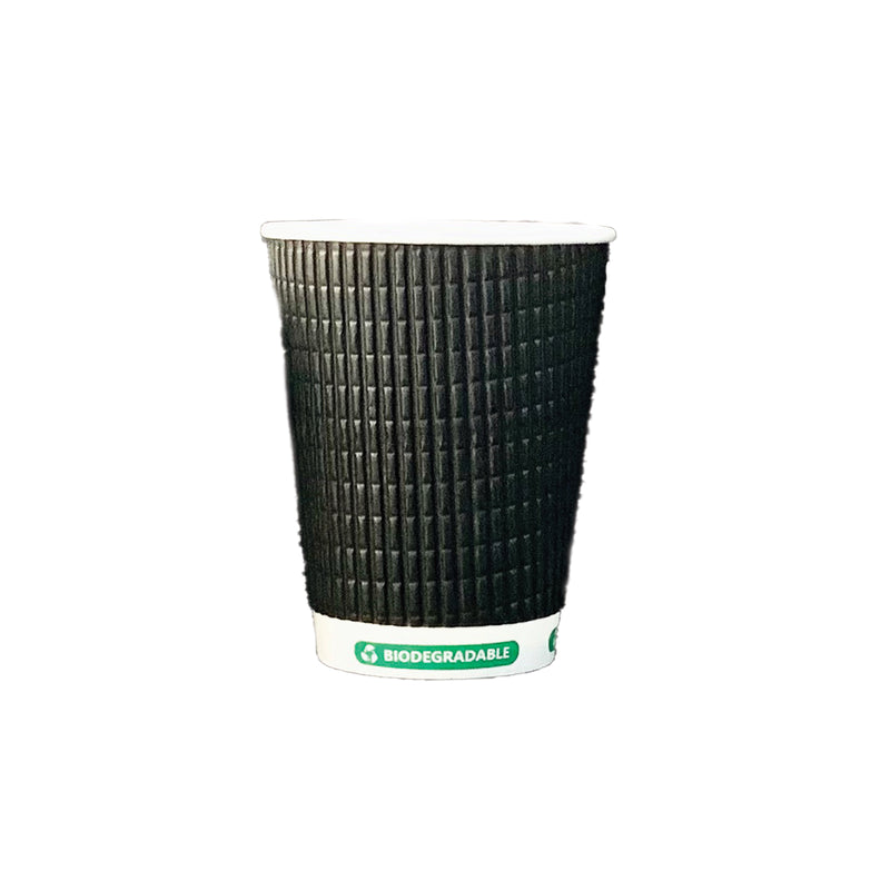 12oz Eco Biodegradeable Takeaway Cups (1x500)