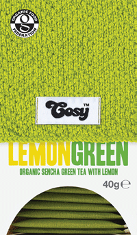 Cosy Organic Lemon Green Tea (1x20 envelopes)