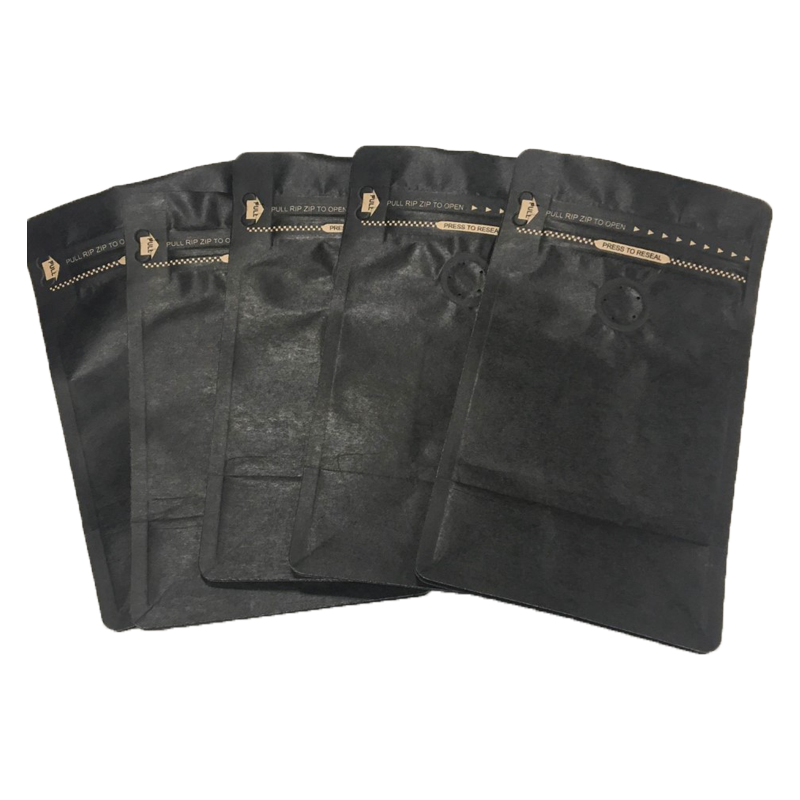 250g Retail Bags (Kraft Black, 1x5)