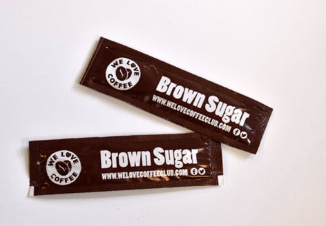We Love Coffee Brown Sugar Sticks (1x1000)
