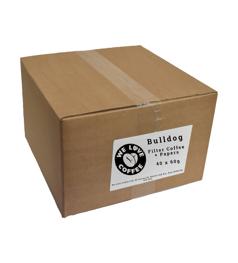 Bulldog 60g Filter Coffee