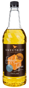 Sweetbird English Toffee Syrup (1 LTR)