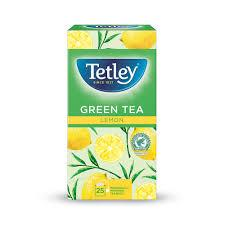 Tetley Green Tea & Lemon (1x25 envelopes)