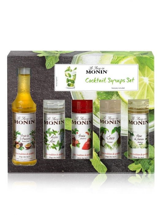Monin Cocktail Syrup Gift Syrup