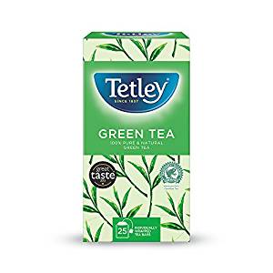 Tetley Green Tea (1x25 envelopes)