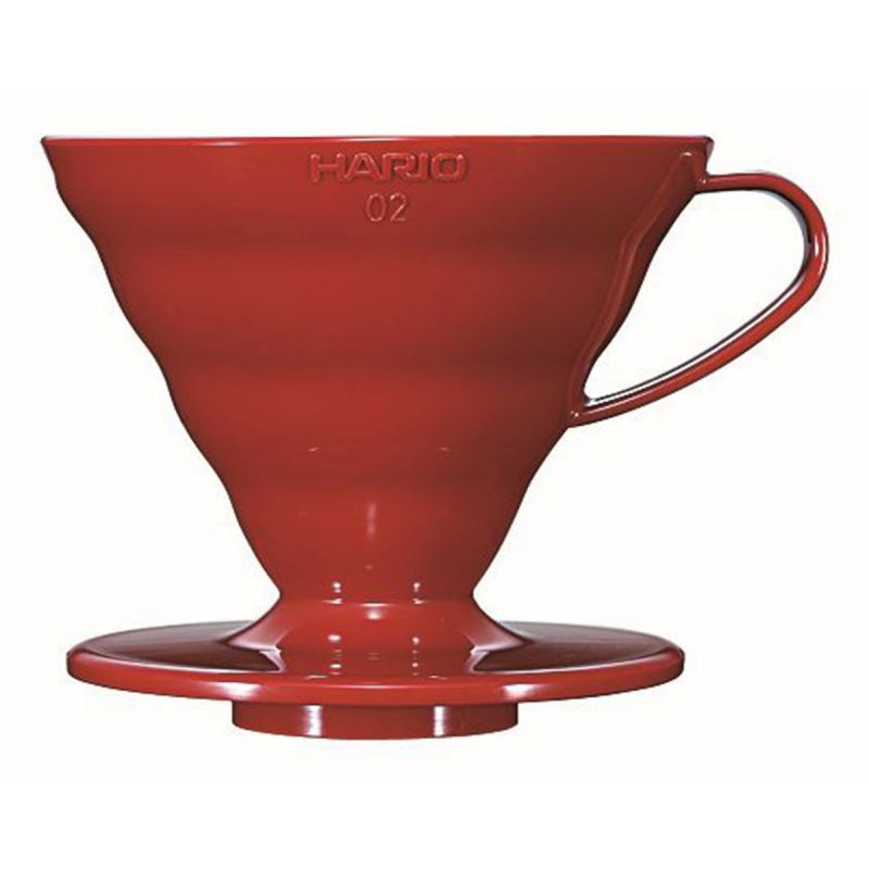 Hario v60 Coffee Dripper (01 - Red Plastic)