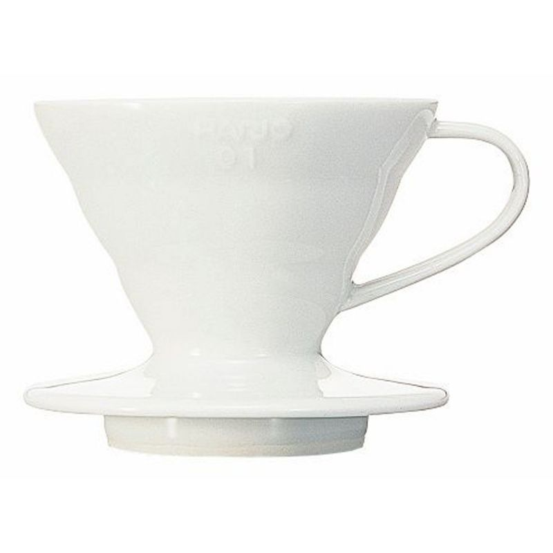 Hario v60 Coffee Dripper (01 - White Ceramic)