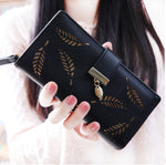 Women's Wallet Feather