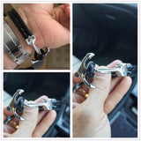 Genuine Leather Anchor  Bracelets