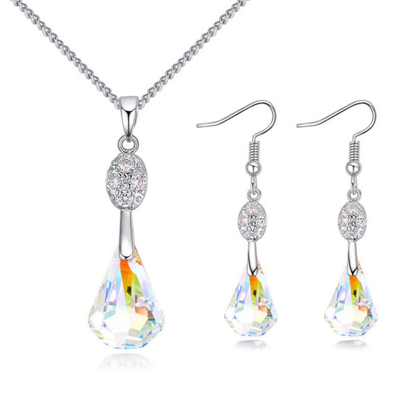 Crystals from Swarovski Jewelry Necklace Sets