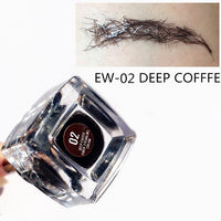 Waterproof 3D Eyebrow Fiber Extension Enhancer Gel