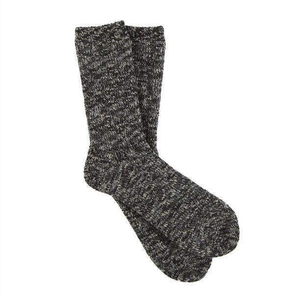 Heavyweight 3 Color Twist Rib Crew Socks