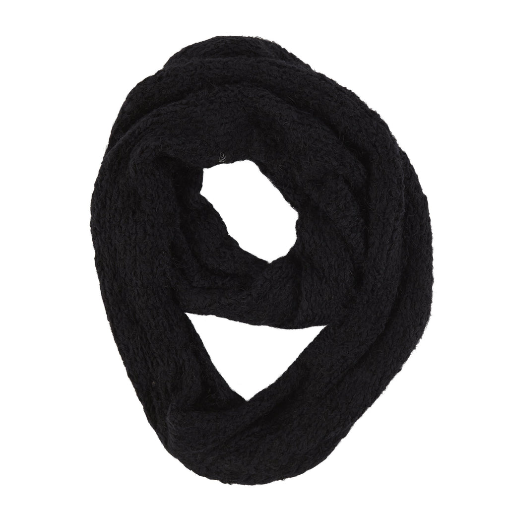 Two Tone Color Cuddl Pop Infinity Scarf