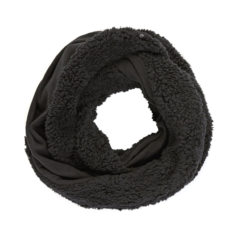 Fleece & Faux Fur Infinity Scarf