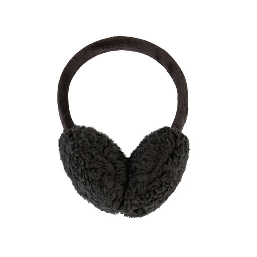 Double Plush Velour & Faux Fur Earmuff