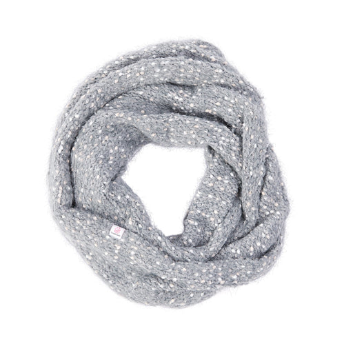 Plush Knit Infinity Scarf