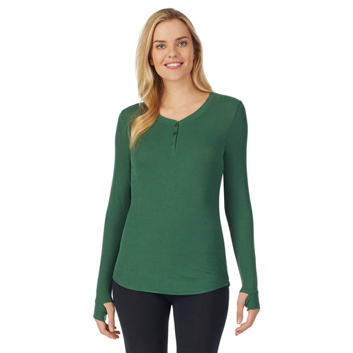 "Clover Green;Model is wearing size S. She is 5'10"", Bust 34"", Waist 26"